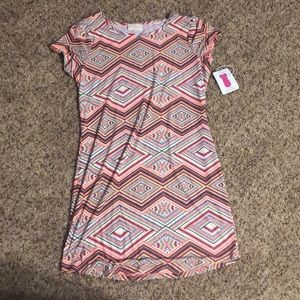NWT body hugging dress size large